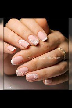 Art Ideas Shellac French 1 Manicure Nail Fingernail Designs Ongles Language