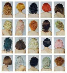 This interactive wig exhibition shows how hair can shape different personas Hair Inspo, Hair Inspiration, Photo Portrait, Hair Reference, About Hair, Hair Looks, Pretty Hairstyles, Dyed Hair, Hair And Nails