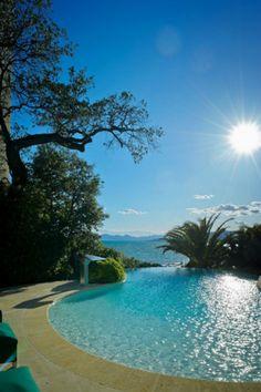 "Villa ""Picolette"" - F. Scott Fitzgerald's Mediterranean villa in Cap D'Antibes in the South of France."