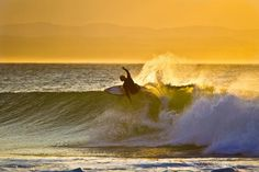 Perfect right-hand point-breaks of the world: Morning perfection in Jeffreys Bay