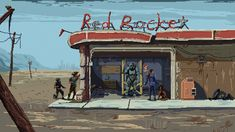 pixel art pictures and jokes / funny pictures & best jokes: comics, images, video, humor, gif animation - i lol'd Fallout Art, Fallout Theme, Fallout Concept Art, Fallout Funny, Pixel Art Background, Cartoon Background, Pixel Gif, How To Pixel Art, Fallout Power Armor