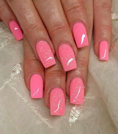 easy and simple nail polish stickers , lacquer nail polish , cracked nail polish ,popular trend this year and will continue to rule 2017 as well. You don't have to create a certain nail art, instead you can apply it simply as regular nail paint. Simple Nail Art Designs, Colorful Nail Designs, Best Nail Art Designs, Pink Nail Art, Pink Nails, Gel Nails, Stylish Nails, Trendy Nails, Cracked Nails