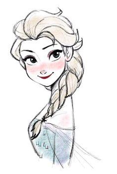 Some say Elsa gives a cold shoulder ...