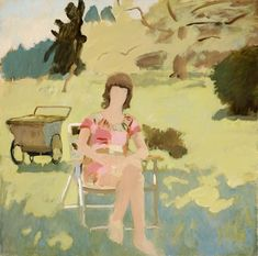 """A later portrait of the artist's daughter, """"Katie Porter,"""" from 1971-73, straddles the divide between finished and unfinished. Description from nytimes.com. I searched for this on bing.com/images"""
