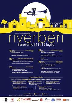 """PALCOSCENICO IN CAMPANIA.it: MUSICA - """"Riverberi"""", dal 15 al 19 luglio, a Benev..."""