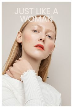 collection - just like a woman - Anna Lawska Jewellery / model - Kaja Werbanowska / photo - Kristof Krolak / make up - Paulina Kurowiak