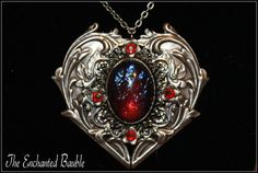 Heart of the Dragon Victorian Dragons Breath by TheEnchantedBauble, $35.00