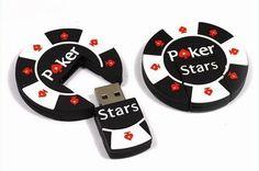 Memoria pendrive USB 8gb de ficha de Poker - bumbusu
