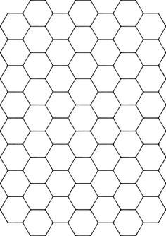 Teselado con Hexágonos Dibujo para colorear. Categorías: Mosaicos. Páginas para imprimir y colorear gratis de una gran variedad de temas, que puedes imprimir y colorear.
