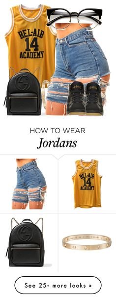 """""""Untitled #923"""" by cjasmyne on Polyvore featuring Gucci, Cartier and Retrò"""