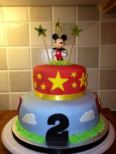 Mickey cake for Evi!