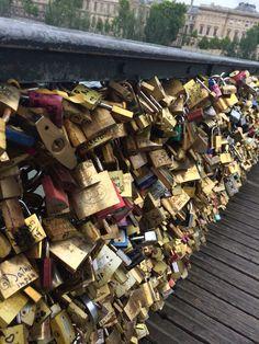 Visit the love lock bridge in Paris! Love Lock Bridge, Paris, Montmartre Paris, Paris France