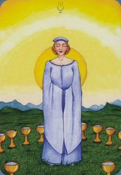 Ten of Cups  - Anna.K Tarot by Anna Klaffinger