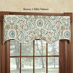 Paisley Prism Window Valance