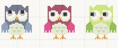 Thrilling Designing Your Own Cross Stitch Embroidery Patterns Ideas. Exhilarating Designing Your Own Cross Stitch Embroidery Patterns Ideas. Cross Stitch Owl, Cross Stitch Freebies, Cross Stitch Bookmarks, Cross Stitch Alphabet, Cross Stitch Charts, Cross Stitching, Cross Stitch Embroidery, Cross Stitch Patterns, Beading Patterns