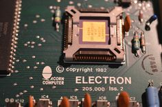Where does he get those wonderful toys? #Acorn #Electron #BBCMicro