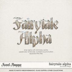 Quality DigiScrap Freebies: Fairytale alpha freebie from Studio Flergs