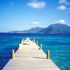 Turtle Bay, St. Kitts, Melanie and I sat on that dock for what seemed like hours...