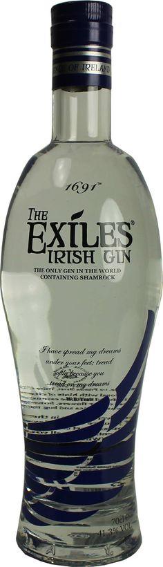 Gin von The Exiles in der 0,7 l Flasche mit 41,3 % Vol. Alc.