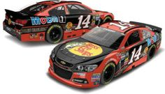 NASCAR Tony Stewart  14 Bass Pro Shops Orange 1 64 Kids Hardtop Car 2013 4875ecad4e41