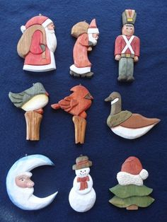 Carving Christmas Ornaments