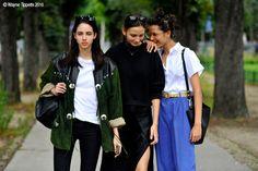 Paris – Champs-Élysées #AriWestphal, #Fashion,#FW16, #HauteCouture, #Moda, #Mode, #Model, #ModelsOffDuty, #Paris, #PFW, #Street, #StreetStyle, #Style, #WaleskaGorczevski, #Woman Photo © Wayne Tippetts