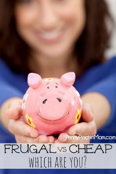 Some people are frugal. Others are cheap. There IS a difference. Read up to find out which one YOU are --- Frugal vs. Ways To Save Money, Money Tips, Money Saving Tips, How To Make Money, Vida Frugal, Frugal Tips, Living On A Budget, Frugal Living, Simple Living