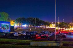 Cinema drive-in exibe filmes brasileiros no Parque da Gruta