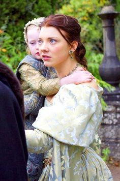 """HENRY, PLEASE."" Anne begging Henry for one last chance. Natalie Dormer was so amazing as Anne Boleyn, such a great actress."