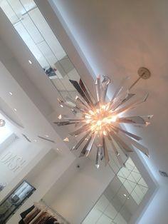 Kourtney Kardashian - Dramatic Chandeliers at Lamps Plus in DASH LA