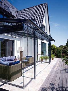 Wintergarten oder überdachte Terrasse? Beides!   Garten & Grün   zuhause3.de