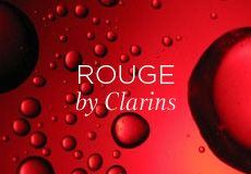 Clarins is symbolised by the colour red. Red for love and passion, red for ruby red lips, as well as red, the colour of delight. The crisp, luscious colour of a juicy apple. The colour of fascination, intoxication, addiction. RED.