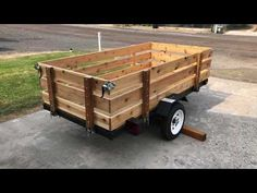 I finally put together the second HB trailer I bought last fall. The first one I turned into my kayak trailer. I sprayed . Folding Utility Trailer, Atv Utility Trailer, Kayak Trailer, Trailer Diy, Trailer Build, Trailer Remodel, Harbor Freight Utility Trailer, Double Kayak, White Water Kayak