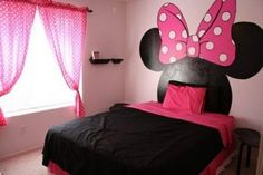 Mickey Mouse bedroom ideas - Minnie Mouse bedroom decor - Mickey Mouse bedding - Minnie Mouse Bedding - Mickey Mouse wall decals - Mickey Mouse Comforters - Disney home decor - Mickey & Friends - Mickey Mouse furniture - Minnie Mouse wall decals - Mickey Minnie Mouse Bedding, Mickey Mouse Bedroom, Bedroom Themes, Girls Bedroom, Bedroom Decor, Decor Room, Bedroom Ideas, Zebra Room Decor, Room Decorations