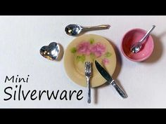 Realistic Miniature Cutlery / Silverware Tutorial - YouTube