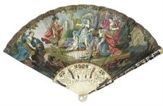 VENUS AND MARS, A FAN 18TH CENTURY Price realised. GBP 1,000. 1/10/08