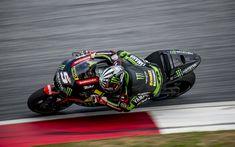 Download wallpapers 4k, Johann Zarco, sportbikes, raceway, 2018 bikes, MotoGP, Yamaha