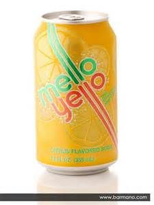 Mello Yello soda. Also in Psychic, my upcoming action/adventure conspiracy theory novel (mid-2014). F. P. Dorchak