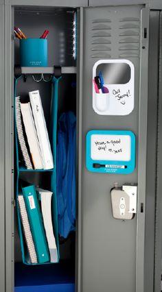 The perfect locker is made with Five Star Locker organization! #FiveStarLocker