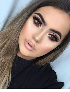 35 Best Smokey Eye Makeup Ideas for Summer - Make Up Ideas - Makeup Formal Makeup, Prom Makeup, Bridal Makeup, Wedding Makeup, Gold Makeup, Hair Wedding, Homecoming Makeup, Foundation For Oily Skin, How To Apply Foundation
