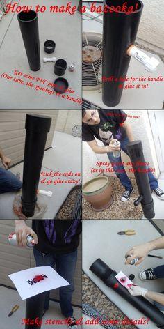 How To Make A Bazooka by jokersdoll.deviantart.com on @DeviantArt