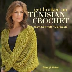 bol.com | Get Hooked on Tunisian Crochet (ebook) Adobe ePub, Sheryl Thies | 9781604682427...