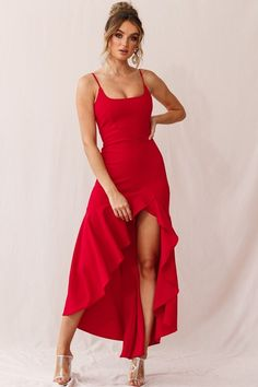 Inspiring Womens Tango Dress Ideas For Your Inspirations Red Dress Casual, Cute Red Dresses, Elegant Dresses For Women, Royal Dresses, Classy Dress, Sexy Dresses, Beautiful Dresses, Dress Outfits, Casual Dresses