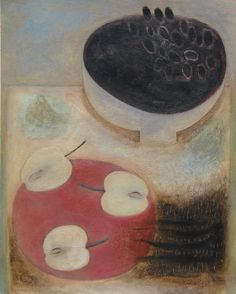 Grapes, Apples and Beans, (2014) by Vivienne Williams
