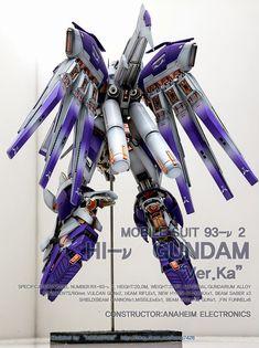 MG 1/100 Hi-Nu Gundam Ver. Ka  GG INFINITE: ORDER HERE    Modeled by Acoustics