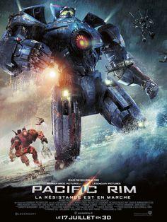 Pacific Rim est un film de Guillermo del Toro avec Charlie Hunnam, Idris Elba. Synopsis : Surgies des flots, des hordes de créatures monstrueuses venues d'ailleurs, les «Kaiju», ont déclenché une guerre qui a