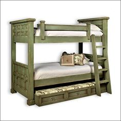 Kristina Bunk Bed with Trundle - Liz Ann's Interior Design Boutique
