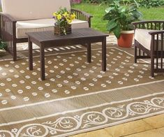 Rv Patio Rug Mat Rugs Large