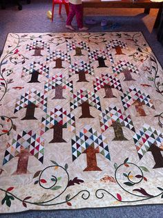 Tree Farm Quilt | Flickr - Photo Sharing!