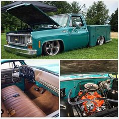 """"""" killed it with his Square Service truck, Congrats brother, well deserves! (at White House, Tennessee) """" Chevy Stepside, C10 Chevy Truck, C10 Trucks, Chevy Pickups, Chevrolet Trucks, Pickup Trucks, Bagged Trucks, Vintage Chevy Trucks, Custom Chevy Trucks"""